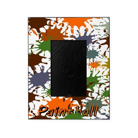 Paintball Splatter Picture Frame