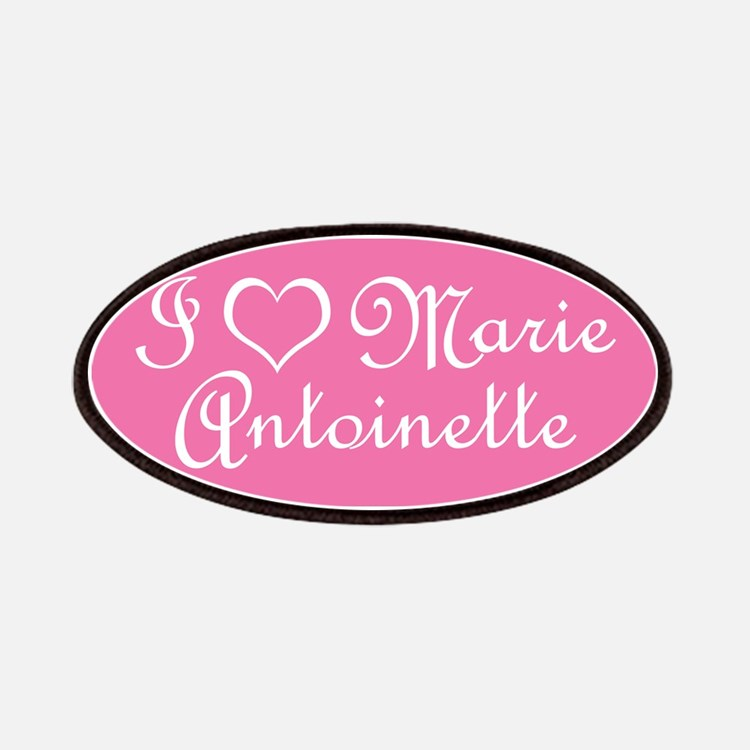 I Love Marie Antoinette Pink Patches