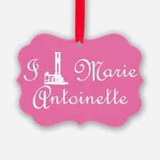 I Guillotine Marie Antoinette Pink Ornament