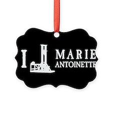 I Love (Guillotine) Marie Antoinette Ornament