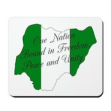 Nigerian National Anthem Mousepad