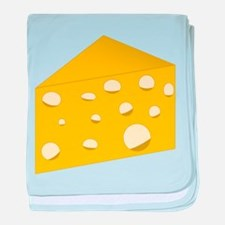 Swiss Cheese baby blanket