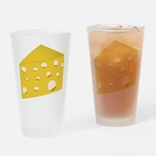 Swiss Cheese Drinking Glass