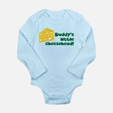 Little Cheesehead Long Sleeve Infant Bodysuit