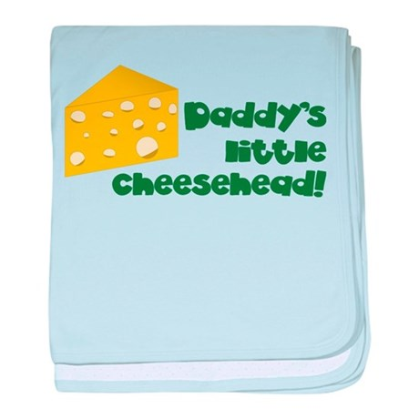 Little Cheesehead baby blanket