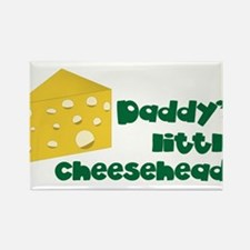 Little Cheesehead Rectangle Magnet