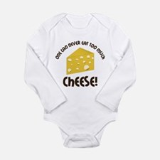 Cheese Long Sleeve Infant Bodysuit