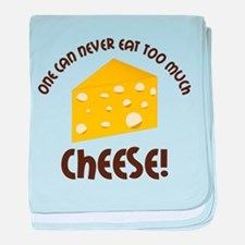 Cheese baby blanket