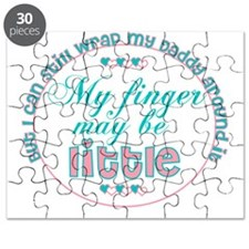 Daddys wrapped around my finger Puzzle