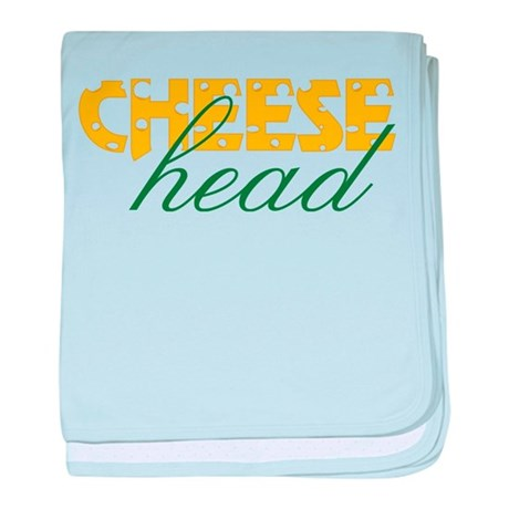 Cheese Head baby blanket