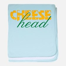 Cheese Head baby blanket