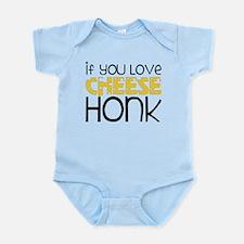Love Cheese Infant Bodysuit