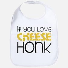 Love Cheese Bib