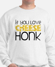 Love Cheese Sweatshirt