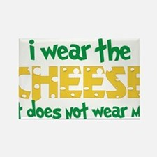 Wear The Cheese Rectangle Magnet