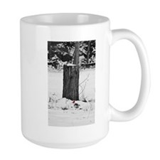 Cardinal in Winter Mug