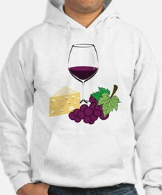Wine And Cheese Hoodie