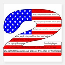 """Keep our rights Square Car Magnet 3"""" x 3"""""""
