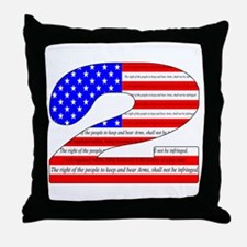 Keep our rights Throw Pillow