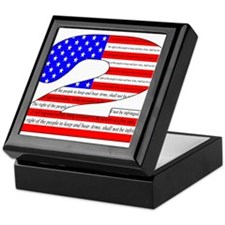 Keep our rights Keepsake Box