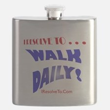 Unique New year resolution Flask
