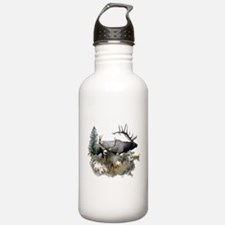Buck deer bull elk Water Bottle