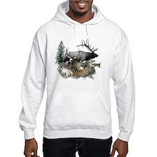 Buck deer bull elk Jumper Hoody
