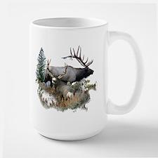 Buck deer bull elk Coffee Mug