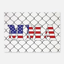 USA MMA 5'x7'Area Rug