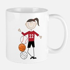 Female Athlete Mug