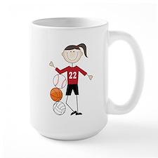 Female Athlete Mug