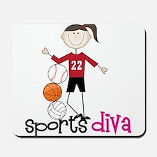 Sports Diva Mousepad