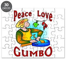 Peace Love Gumbo Puzzle