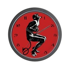 Laughing Devil Clock