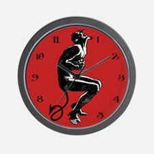 Laughing Devil Clock