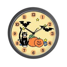 Kid Halloween Wall Clock
