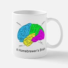 A Homebrewer's Brain Mug