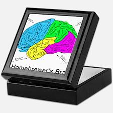 A Homebrewer's Brain Keepsake Box