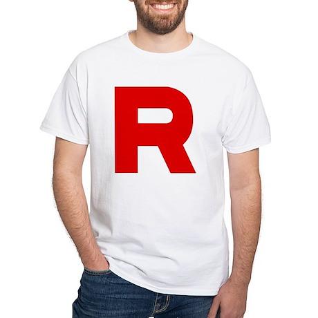 Team Rocket White T-Shirt