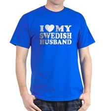 I Love My Swedish Husband T-Shirt