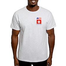 Swiss American Ash Grey T-Shirt