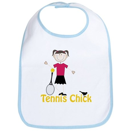 Tennis Chick Bib