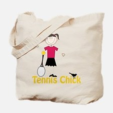 Tennis Chick Tote Bag