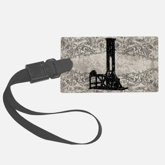 Guillotine Luggage Tag