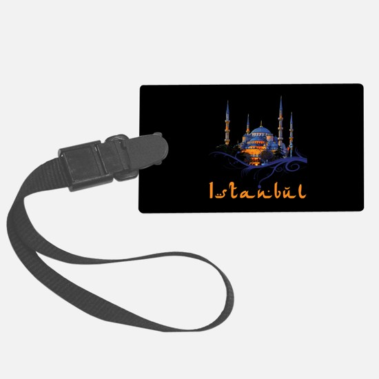 Blue Mosque Istanbul Luggage Tag