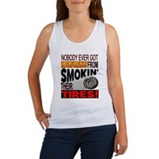 Sick from smokin Tires Women's Tank Top