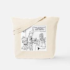 Funny Hernia Tote Bag