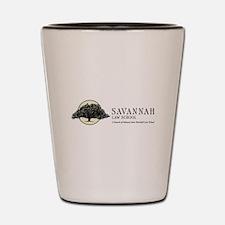 Savannah Law School Shot Glass