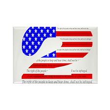 2nd Amendment Pride Rectangle Magnet