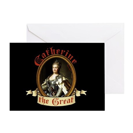 Catherine The Great Greeting Card